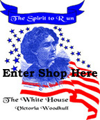 Spirit to Run the White House graphic enter shop here