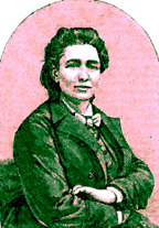 Portrait of Victoria Woodhull